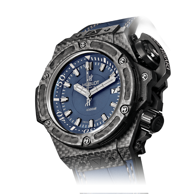 HUBLOT Oceanographic 4000 Denim