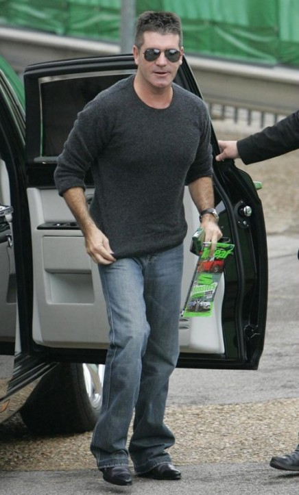 Simon Cowell in Grey