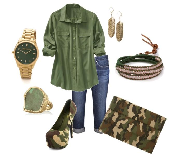 Camouflage Stilettos