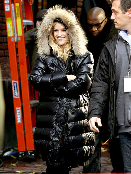 Reese Witherspoon Bubble Coat