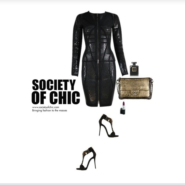 Dominatrix Dress by Society of Chic