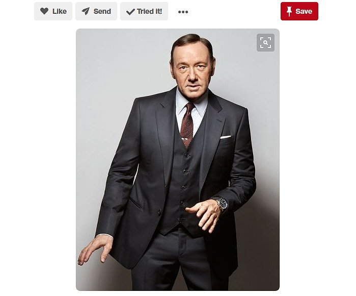 Kevin Spacey Suit