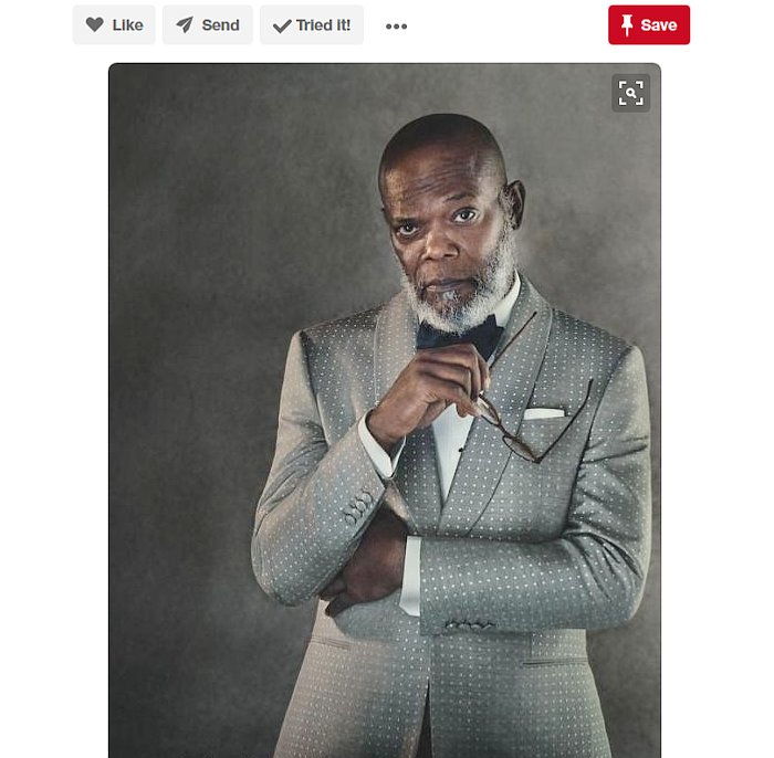 Samuel L Jackson Looking Dapper