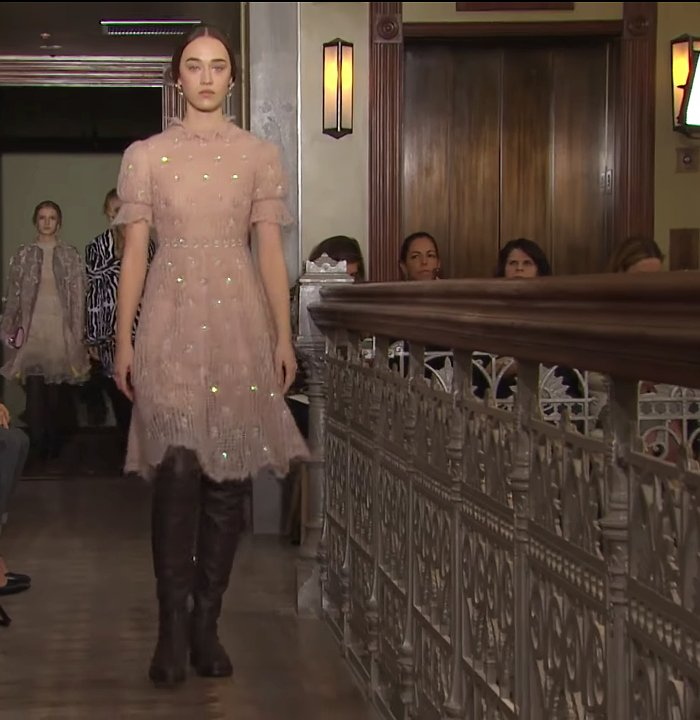 Valentino semitransparent dress