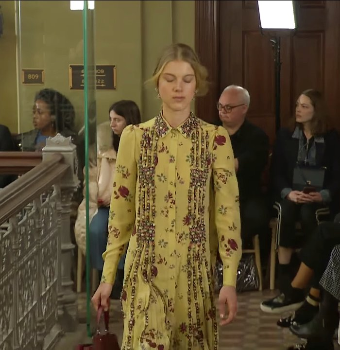 Valentino yellow pattern